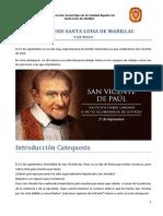 Catequesis San Vicente de Paul 2018