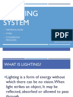 Lighting system - electives 2