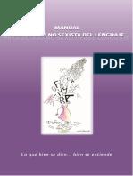 Pérez Cervera, María Julia, Manual Para El Uso No Sexista Del Lenguaje
