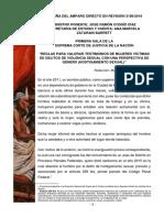 Reseña Del Amparo Directo en Revisión 3186-2016