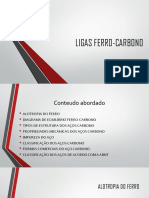 Ligas Ferro-carbono Final