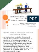 Metodos Globales Para La Evaluacion de Condiciones De