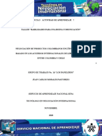 Desarrollo Evidencia 3 - Actividad 7.Fase de Planeacion