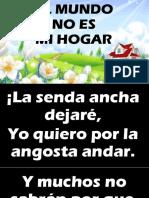 EL MUNDO NO ES MI HOGAR.pptx