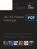 JIS KIS Flange Product Range Catalogue