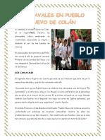 Carnavales en Pueblo Nuevo de Colán