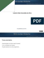 Minicurso Arduino