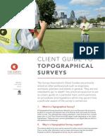 TSA Client Guide - Topographical Surveys_Issue 2_LR