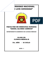 Clinica Médica b 2019-i Actualizado