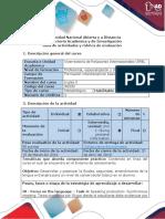 Guía de Actividades y Rúbrica de Evaluación. Task 4 - Speaking Production