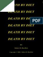 Death by Diet - Barefoot, Robert R