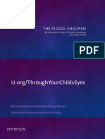 the puzzle children edited