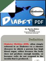Lecture 20 Diabetes