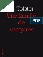 Une famille de vampires