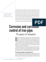 75 years rearch. Corrosion and Corrosion Control Iron pipe.pdf