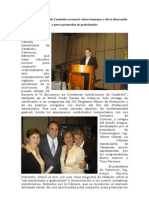 Cámara Inmobiliaria de Carabobo reconoció valores humanos y dio la bienvenida a nueva promoción de profesionales