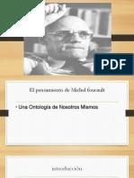 Foucault- Una ontología de nostros mismos (1)