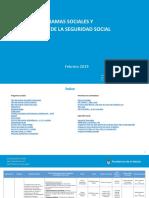 planes sociales y programas argentina