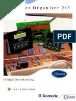 Condaria  Organizer 2 operator manual
