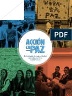 Acción CaPaz Estrategia de capacidades para la paz y la convivencia