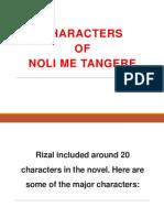 Characters of Noli