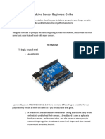 Arduino Sensors Beginners Guide