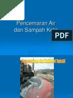 Pencemaran Air Dan Sampah