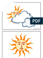 Picture Flashcards (Weather & Emotions) for Teaching English to Kids