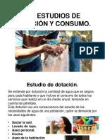 1.4 Estudios de Dotacion y Consumo