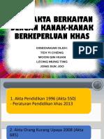 akta2 berkaitan MBK