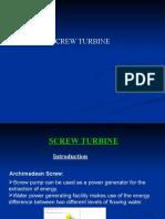 Screw Turbine Ppt