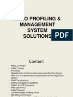 KYKO Profiling & Management System Solutions