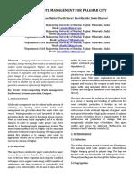 Solid Waste Management Paper