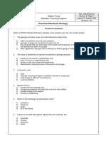 Driller Workbook