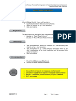 Data Requirements for Road Network Inventory Studies and Road Safty