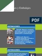Envase y Embalaje Definicion