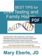 23 Best Tips for DNA Testing and Family History - Mary Eberle