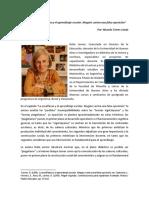 Resumen Delia Lerner_La Enseñanza y El Aprendizaje Escolar