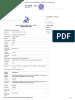 Sample of form filling