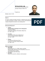 Sample Resume for IT