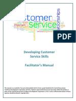 HighmarkFoundationCustomerServiceCurriculumFacilitatorManual.pdf