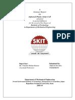 Seminar report cover
