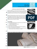 ProTex Filter Media