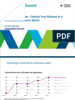 Managing DevOps Release