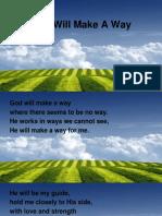 God Will Make Away