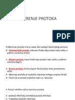 Mjerenje Protoka-procesna Tehnika