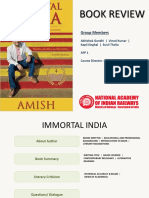 Book Review of Immortal India