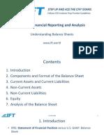 R24 Understanding Balance Sheets