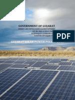 Gujarat Solar Policy 2015