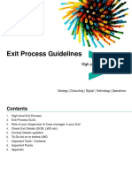 Exit Process of Accenture